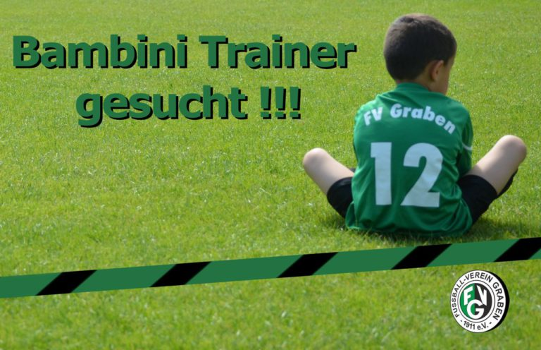 Bambini-Trainer/in gesucht!