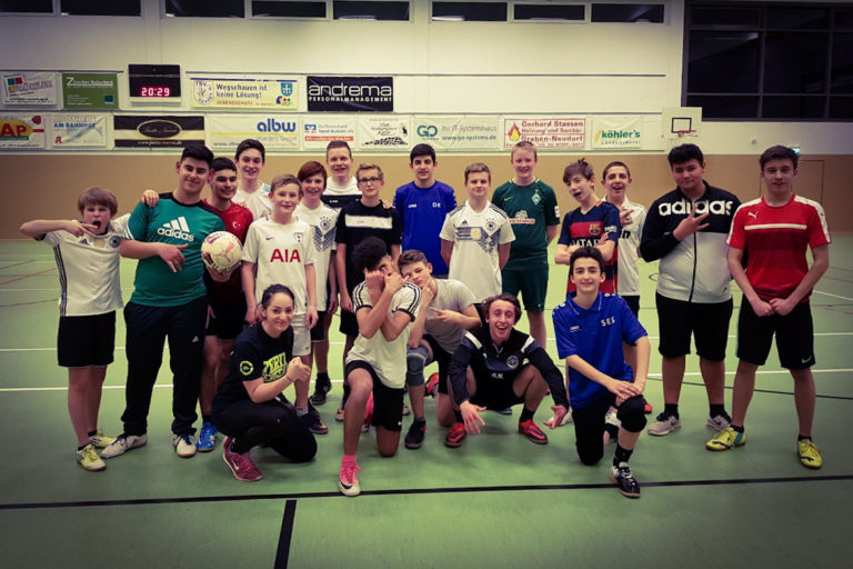 Fitness Training für C-Junioren