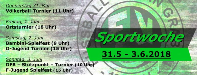 Sportwoche 2018 – Halbzeit 1